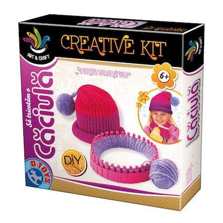 Creative Kit Sa Tricotam Caciula D-TOYS [0]