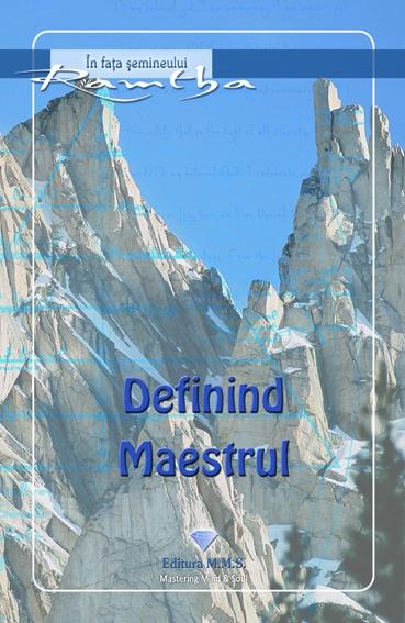 Definind maestrul - Ramtha 0