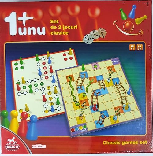 Set 2 Jocuri Clasice DEICO GAMES [0]