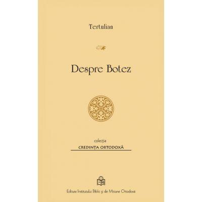 Despre Botez de Tertulian [0]