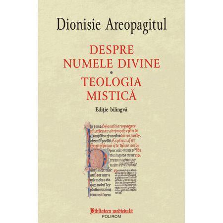 Despre numele divine. Teologia mistica. Editie bilingva 0