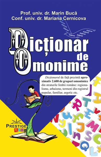 Dictionar de Omonime de Marin Buca, Mariana Cernicova 0