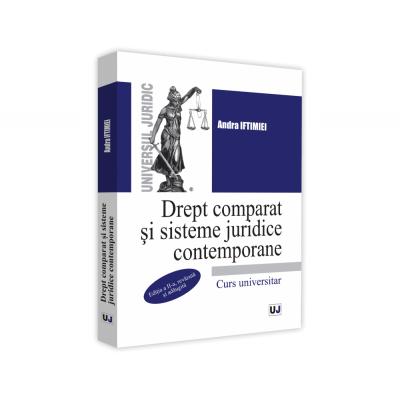 Drept comparat si sisteme juridice contemporane de Andra Iftimiei [0]