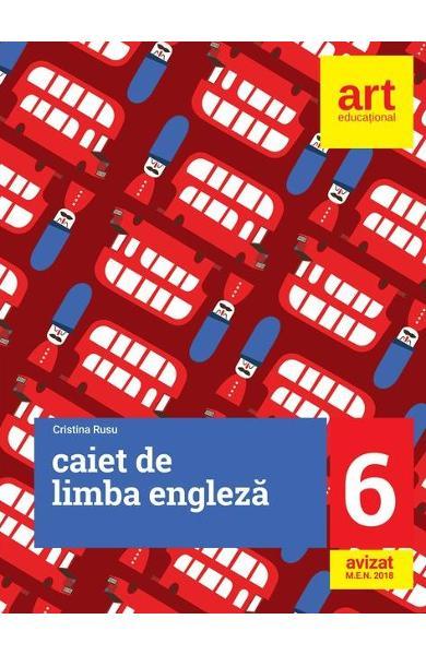 Engleza - Clasa 6 - Caiet de Cristina Rusu 0