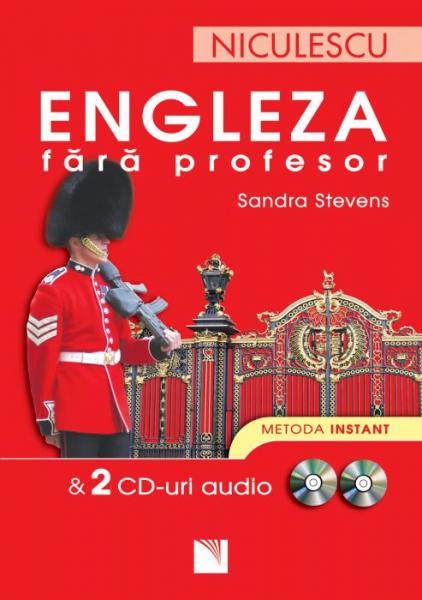 Engleza fara profesor + 2 CD-uri audio de Sandra Stevens 0