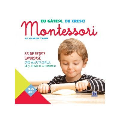 Eu gatesc, eu cresc! Montessori de Vanessa Toinet [0]