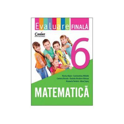 Evaluare finala clasa a VI-a. Matematica de Viorica Bujor [0]