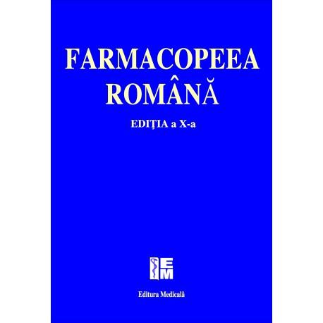 Farmacopeea romana - Editia a x-a 0