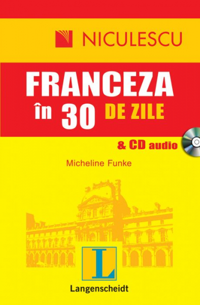 Franceza in 30 de zile + CD audio de Micheline Funke 0