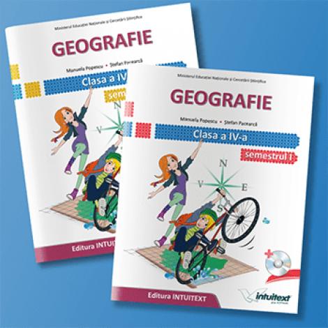 Geografie - Manual pentru clasa a IV-a-set 0