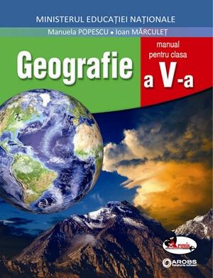 Geografie, manual clasa a V-a de Manuela Popescu, Ioan Marculet 0