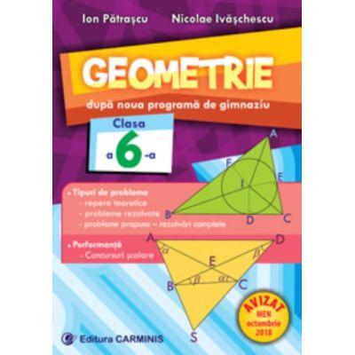 Geometrie. Dupa noua programa de gimnaziu. Clasa a VI-a de Ion Patrascu 0