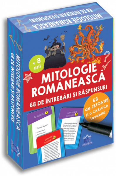 MITOLOGIE ROMANEASCA: 68 DE INTREBARI SI RASPUNSURI - DPH de Gabriela Girmacea [0]