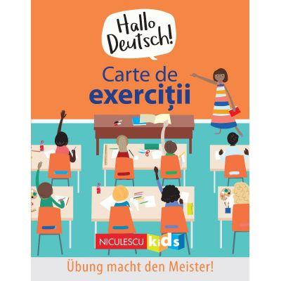 Hallo Deutsch! Carte de exercitii de Sam Hutchinson, Emilie Martin [0]