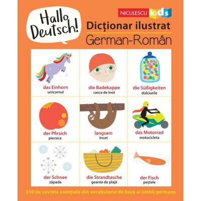 Hallo Deutsch! Dictionar ilustrat de Sam Hutchinson 0