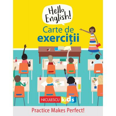 Hello English! Carte de exercitii de Sam Hutchinson, Emilie Martin 0