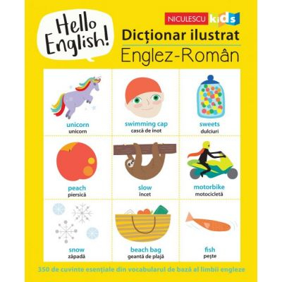 Hello English! Dictionar ilustrat de Sam Hutchinson [0]