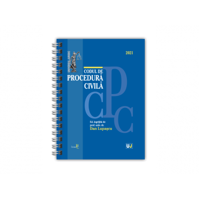 Codul de procedura civila 2021 de Dan Lupascu [0]