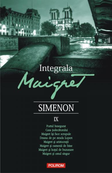 Integrala Maigret IX de Georges Simenon 0