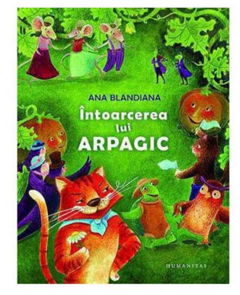 Intoarcerea lui Arpagic de Ana Blandiana 0