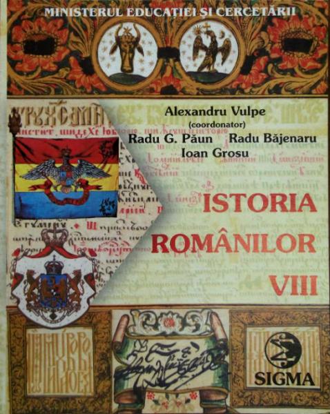 Istorie - Clasa 8 - Manual [0]