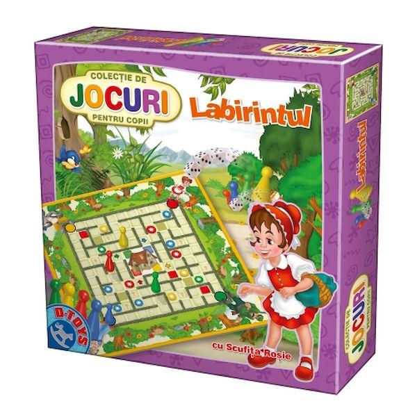 Colectia de Jocuri pentru copii: Labirintul D-TOYS [0]