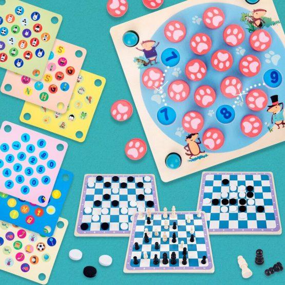 Joc memorie 4 in 1 Multifunctional Memory Chess [1]