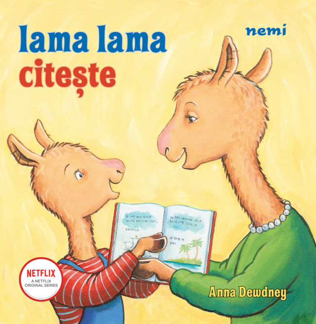 Lama Lama citeste de Anna Dewdney [0]