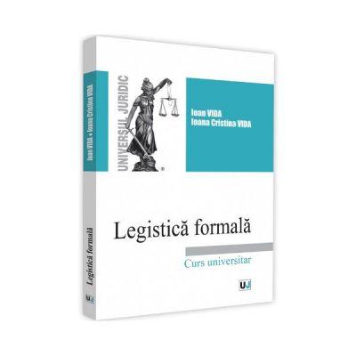 Legistica formala de Ioan Vida [0]