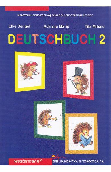 Limba germana, manual pentru clasa a II-a (limba materna) de Elke Dengel, Adriana Maris, Tita Mihaiu 0