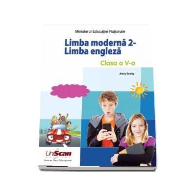 Students Book. Limba moderna 2. Manual pentru limba engleza pentru clasa a V-a. Contine editia digitala