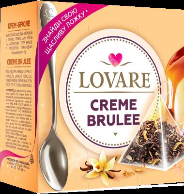 Creme Brulee Amestec de ceai negru, lapacho si petale de flori Lovare 0