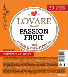 Lovare Passion Fruit ceai 50 plicuri [0]