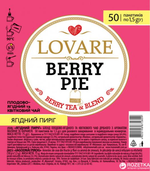 Lovare Berry Pie 50 plicuri [0]