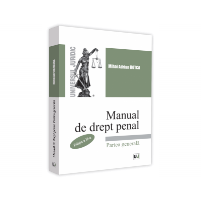 Manual de drept penal de Mihai Adrian Hotca [0]