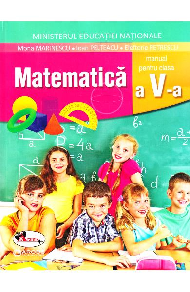 Matematica - Clasa 5 - Manual + CD de Mona Marinescu, Ioan Pelteacu, Elefterie Petrescu [0]
