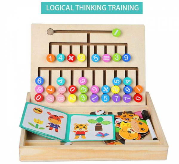 Logical Thinking Puzzle Drawing Board [1]