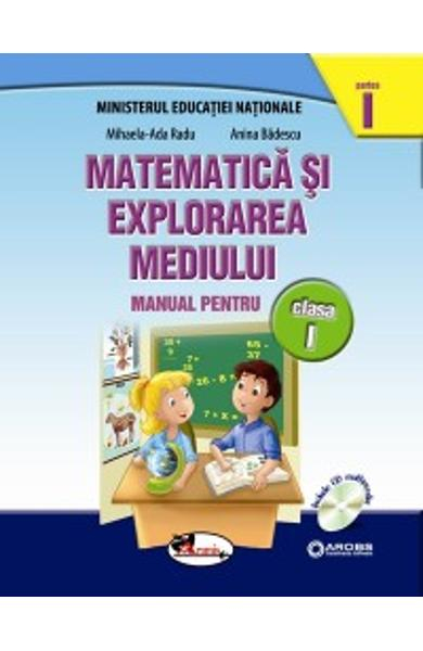 Matematica si explorarea mediului clasa 1 partea I+partea II - set 0