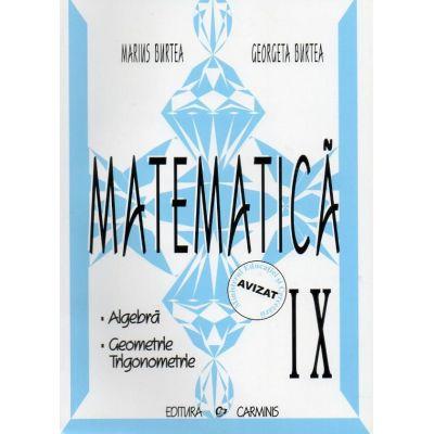 Matematica. Alegbra, Geometrie, Trigonometrie. Clasa a IX-a [0]