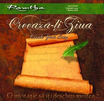 CD-Creeaza-ti ziua - Ramtha 0