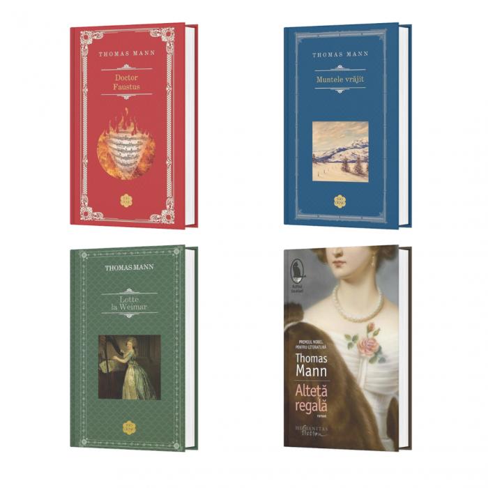 Pachet Autor Thomas Mann - 4 Titluri [0]