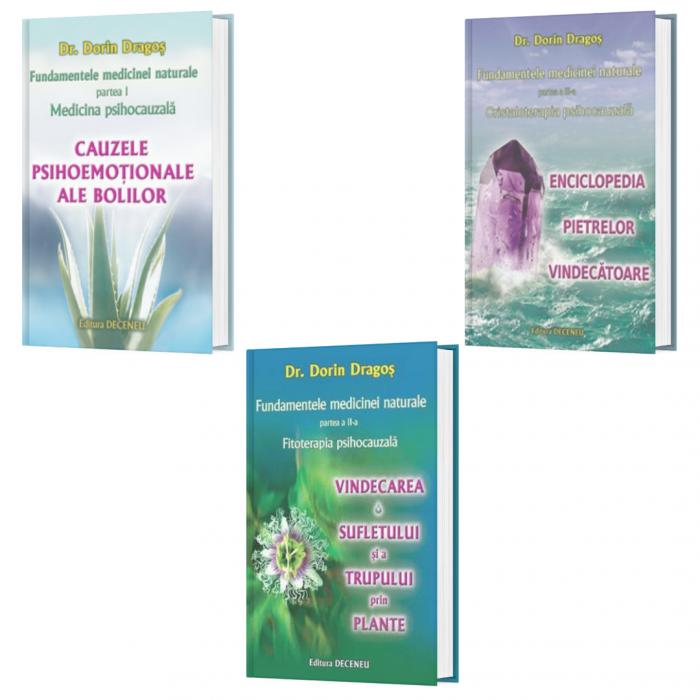 Pachet Fundamentele medicinei naturale - 3 Volume de Dorin Dragos [0]