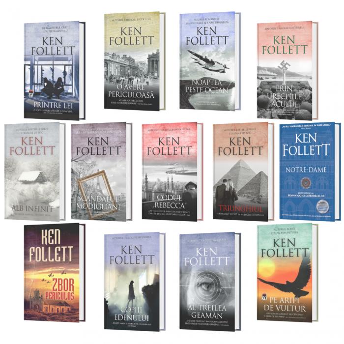 Pachet Special Autor Ken Follett - 13 titluri [0]