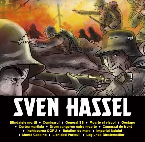 Pachet Special Sven Hassel - 14 Volume 1