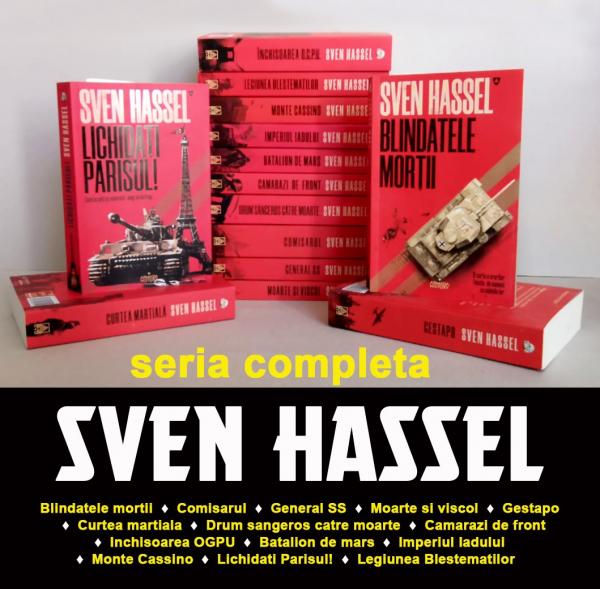 Pachet Special Sven Hassel - 14 Volume 0