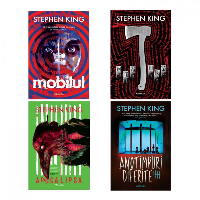 Pachet Stephen King - 4 TITLURI 0