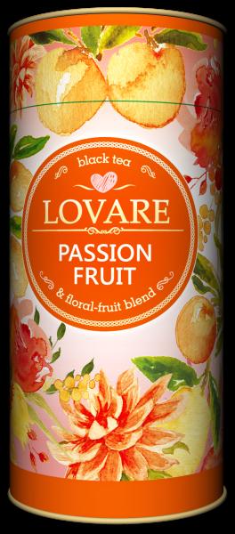 Passion Fruit  Amestec de ceai negru, plante si fructe de la Lovare 0