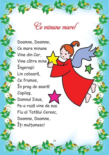 Poezii religioase pentru copii 1