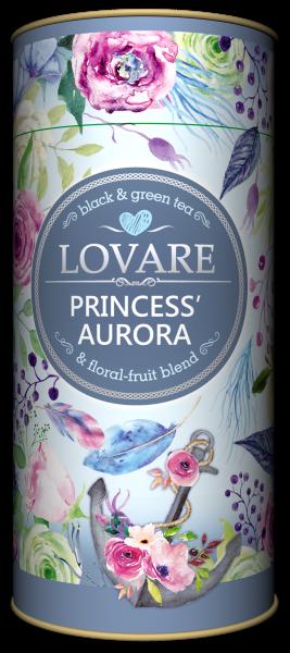 Princess' Aurora  Amestec de ceai negru, ceai verde si plante Lovare 0
