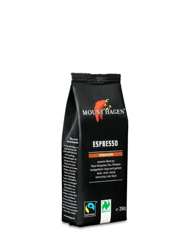 Cafea Bio Espresso prajita si macinata 0